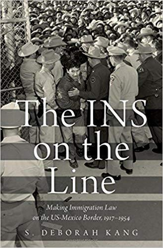 book cover: INS on the line