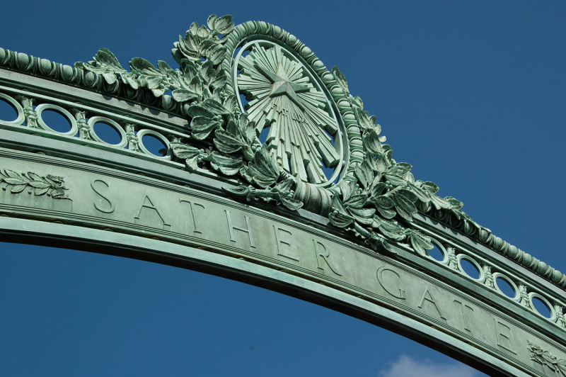 Sather Gate photo by Steve McConnell