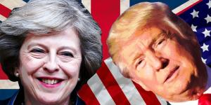 Theresa May & Donald Trump montage