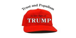 red trump hat with conference title
