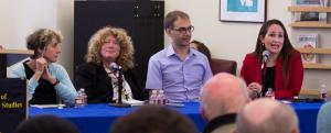 panelists at election kickoff event