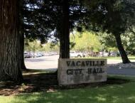 Entrance to Vacaville city hall
