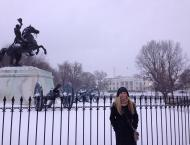 Snow Day at the White House