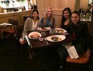 Fancy D.C. dinner with the roommates