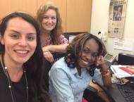 I've been working closely with Rose and Katrina, assistants to the Superintendent, as I transition into my new job duties that I will be taking on for the rest of the summer.